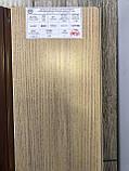 Двери гармошка Vinci Decor Мускатный орех  межкомнатные глухие, фото 2