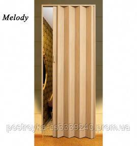 Двери гармошка Vinci Decor Сосна   межкомнатные глухие
