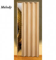 Двері гармошка Vinci Decor Сосна міжкімнатні глухі