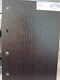 Межкомнатная дверь  Пиана ПВХ DeLuxe с матовым стеклом ,цвет венге new, фото 2