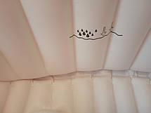 Надувная ванночка детская переносная портативная ванна с ножным насосом и подушкой, розовая (настоящие фото), фото 3
