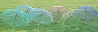"""Зонт-трость """"Прозрачный"""" 5 цветов"""