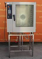 Пароконвекционная печь «Retigo B 1011 I», (Чехия), + подставка из нержавеющей стали, Б/у, фото 1