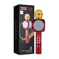 Микрофон WS-1816 Красный/Золотистый