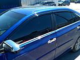 Дефлекторы окон (ветровики) Toyota Camry v55 2015-2017 (Американка), фото 2