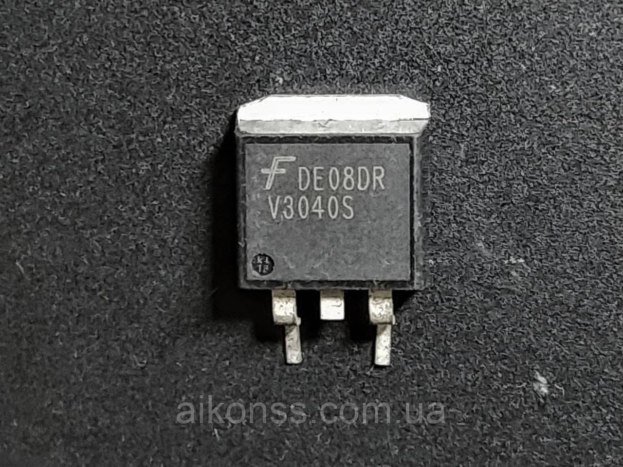 Транзистор V3040S корпус TO-263AB . ISL9V3040S3 Fairchild оригінал