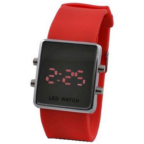6c2a64b8 Часы наручные 1000/1080 LED зеркало,электронные наручные часы, женские наручные  часы,