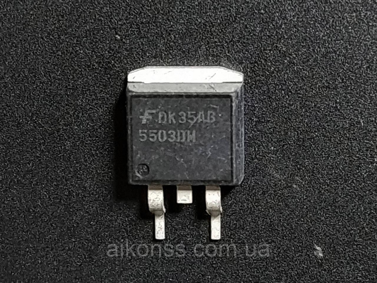 Транзистор мікросхема 5503DM корпус TO263 ключ котушок запалювання . Оригінал.