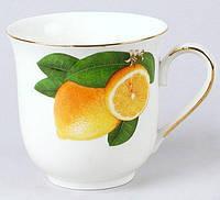 Кружка Лимон 320 мл фарфор BD-348-708psg, КОД: 171647