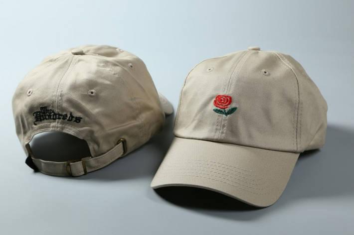 Кепка Hundreds Rose бежевый, фото 2