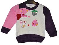 Пуловер для девочки 1-3 лет.Детская одежда оптом.