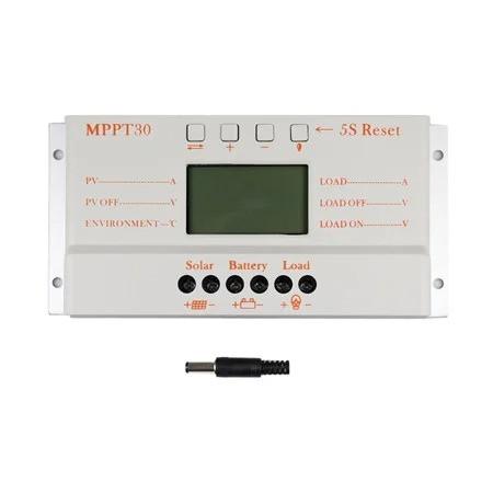 Контроллер заряда солнечных батарей МРРТ 30A