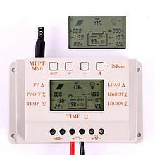 Контроллер заряда солнечных батарей МРРТ 20A