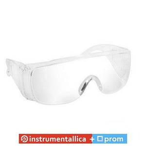 Очки защитные с пластиковыми дужками SP-0020 Intertool