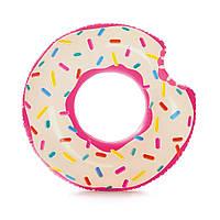 Надувной Круг для Плавания Intex Пончик 94 см