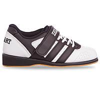 Штангетки (кросовки) для тяжелой атлетики КОЖА OB-4588 40 (25,5 см)