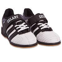 Штангетки обувь для тяжелой атлетики Zelart PU OB-4594 38