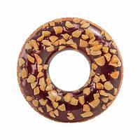 Надувной Круг для Плавания Intex Шоколадный Пончик 99 см