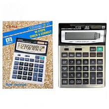 Калькулятор CT-912 настольный большой 21х15х3,5см. (60)