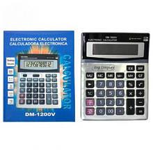 Калькулятор DM-1200V настольный большой 19,5х15х3,5см. (90)