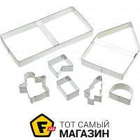 Форма сталь можно мыть в посудомоечной машине для пряников Kitchen Craft Sweetly Does It Имбирный, 7шт. (474018)
