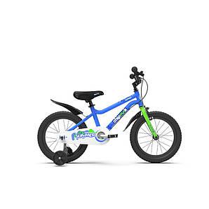 """Велосипед детский RoyalBaby Chipmunk MK 14"""", OFFICIAL UA, синий (CM14-1-blue)"""
