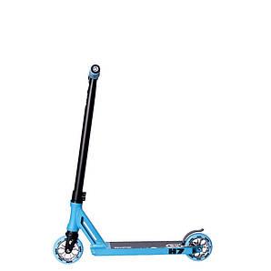 Самокат трюковый Hipe H7 Black/Blue (800017)