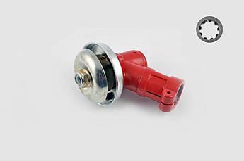Редуктор мотокоси 9Т (Ø26) (червоний)