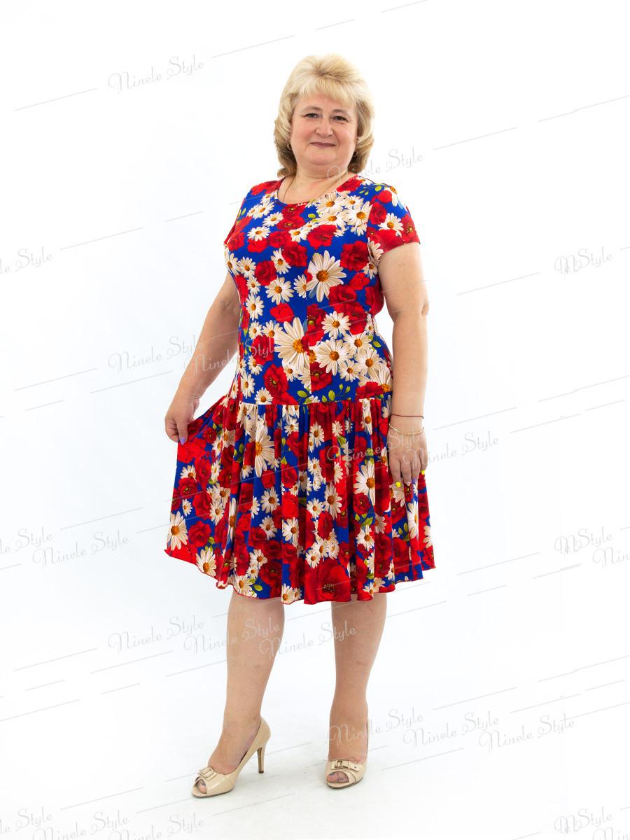 Повседневное платье 436-12 54