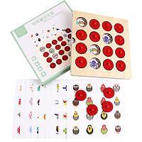 Деревянная игрушка МЕМО: Окружающий мир №2, развивающие товары для детей.