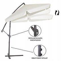 Зонт садовый угловой с наклоном Springos 270 см GU0008, фото 2