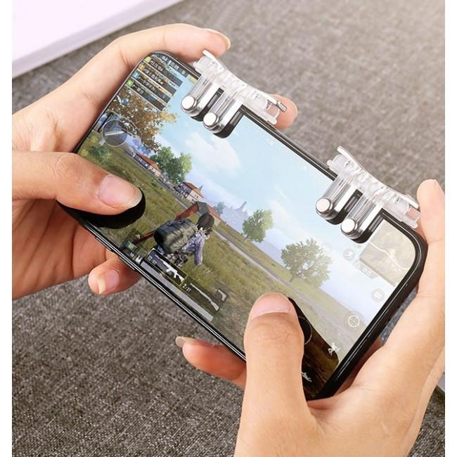 Триггеры для смартфона (для PUBG Mobile) Joyroom JR-ZS167 Silver