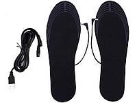 Стельки в обувь с подогревом USB 50 градусов Размер 35-39