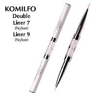 Komilfo Пензель Double Liner 7 (Nylon)/Liner 9 (Nylon)
