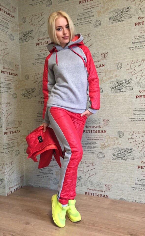 Купить спортивный костюм женский плащевка