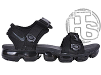 Мужские сандалии Nike Air VaporMax Sandals Triple Black AQ2418-001