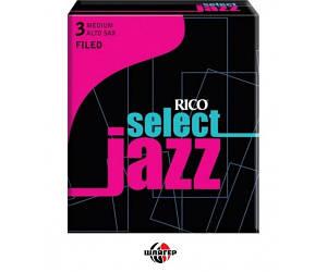 RICO RSF10ASX3M Трость для саксофона альт Select Jazz 3 Medium