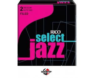 RICO RSF10ASX2M Трость для саксофона альт Select Jazz 2 Medium