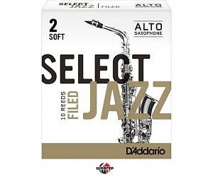 RICO RSF10ASX2S Трость для саксофона альт Select Jazz 2 Soft