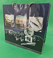 Пакет подарунковий паперовий квадратний и 23*24*10(артKV-151) (12 шт)