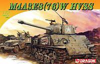 """Модель танка M4A3(76)W HVSS (M4A3E8) Sherman """"Thunderbolt VII"""" 1/72"""