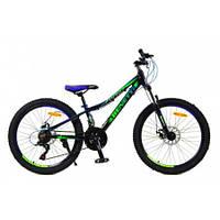 Горный спортивный велосипед Бэнэтти МТВ зеленый