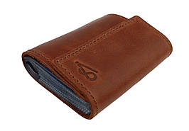 Визитница карточница карт-холдер SULLIVAN v7(5) светло-коричневый