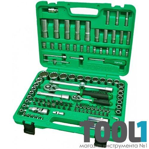"""Набор инструментов 1/4"""" и 1/2"""" 108 ед. (12 гр.) new box TOPTUL GCAI108R1"""
