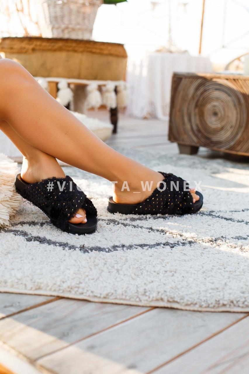Шлепанцы Violeta 8-283 black