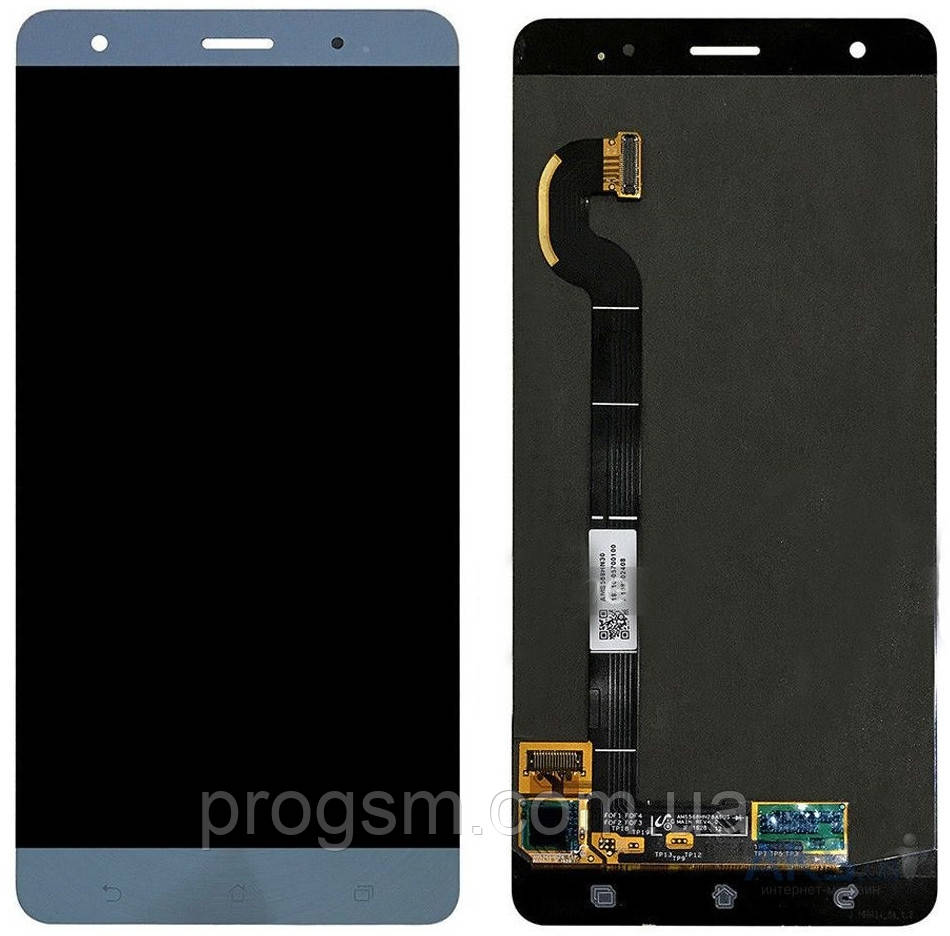 Дисплей Asus ZenFone 3 Deluxe (ZS570KL) complete with touch Blue