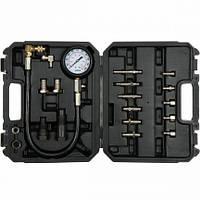 Компрессометр для дизельных двигателей YATO 7 МПа с инструментами 19шт. в кейсе
