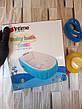 Надувная ванночка детская переносная портативная ванна с ножным насосом и подушкой, синяя (настоящие фото), фото 6
