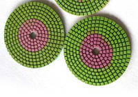 Алмазный круг черепашка  для полировки двухцветный зерно 2000, фото 1