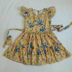 Літнє плаття-сарафан для дівчинки